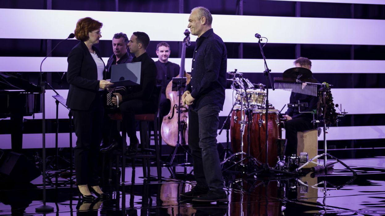 """Mariusz Bonaszewski został uznany za najlepszego aktora w spektaklach Teatru Telewizji; doceniono jego role w """"Marszałku"""" i """"Spiskowcach"""" (fot. S. Loba)"""