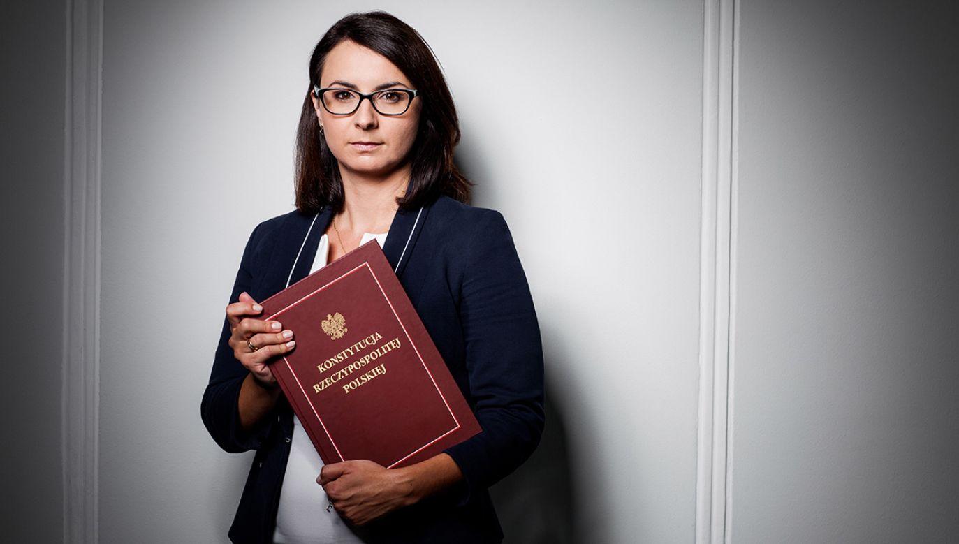 Kamila Gasiuk-Pihowicz, posłanka partii Nowoczesna (fot. arch. PAP/Arek Markowicz)