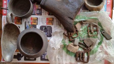 Znalezione skarby archeologiczne sprzedawał