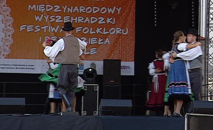 Festiwal Zespolów Folklorystycznych Grupy Wyszehradzkiej.