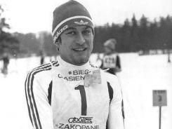 Biegacz narciarski Józef Łuszczek w Lake Placid był 5. na dystansie 30 km,  6. na 15 km oraz 17. na 50 km (fot. PAP)