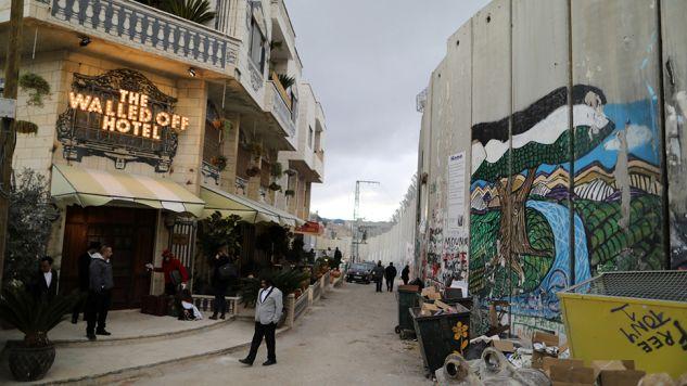 Hotel Banksy'ego przyjął pierwszych gości (fot. REUTERS/ Ammar Awad)