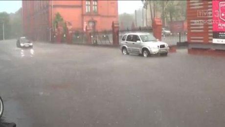 W regionie obowiązuje ostrzeżenie przed intensywnymi opadami i burzami