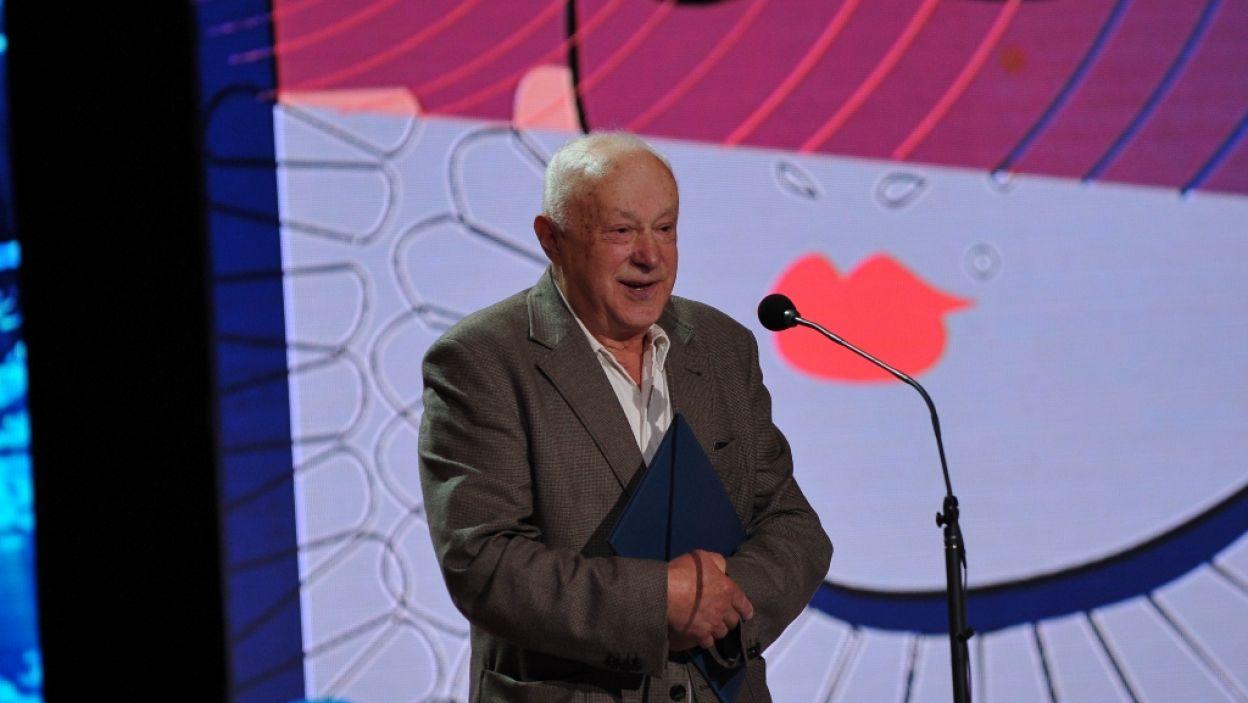 Nagroda Aktorska za rolę męską w słuchowisku Polskiego Radia trafiła do Stanisława Brudny (fot. N. Młudzik/TVP)