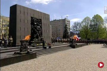 Polska oddaje cześć bohaterom Getta Warszawskiego
