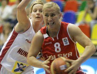 Dwa punkty w drugiej kwarcie. Polska przegrywa z Kanadą