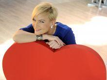 Ola Kostka w romantycznym nastroju (fot. Agencja Forum)