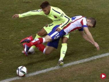 Puchar Króla – 1/4 finału: Atletico Madryt – FC Barcelona (mecz)
