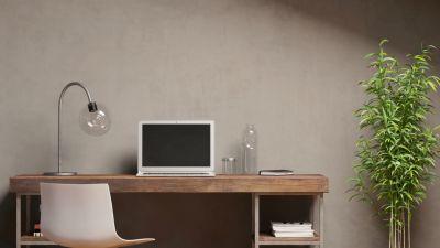 Design - Biurko i półki Le Corbusiera