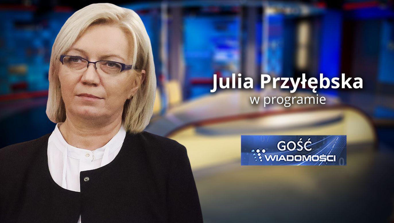Julia Przyłębska (fot. TVP Info)
