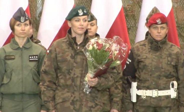 Major Anna Pęzioł-Wójtowicz ma 36 lat i pochodzi z Kraśnika (fot. MON)