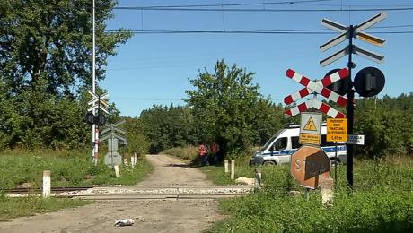 Ruch kolejowy na trasie Olsztyn-Ostróda został wstrzymany na kilka godzin