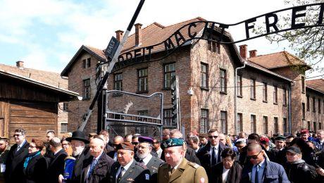 Marsz Żywych z udziałem Żydów i Polaków. Fot.: PAP/Andrzej Grygiel