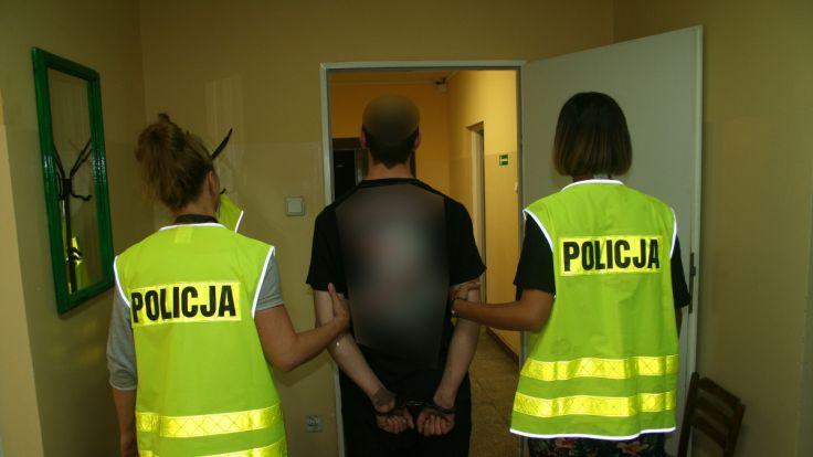 Obu mężczyzn doprowadzono do Prokuratury Rejonowej