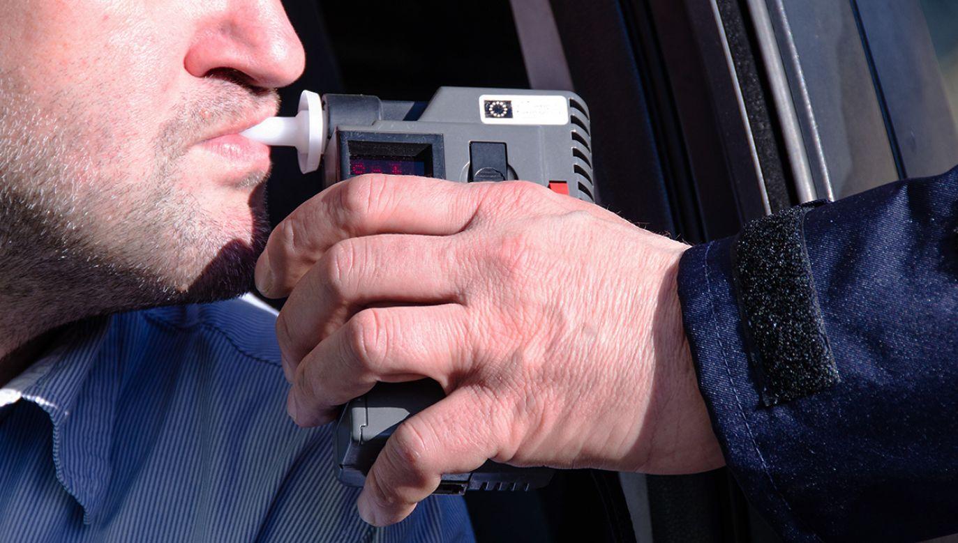 Kierowca miał prawie dwa promile alkoholu (fot. Shutterstock/Monika Gruszewicz)