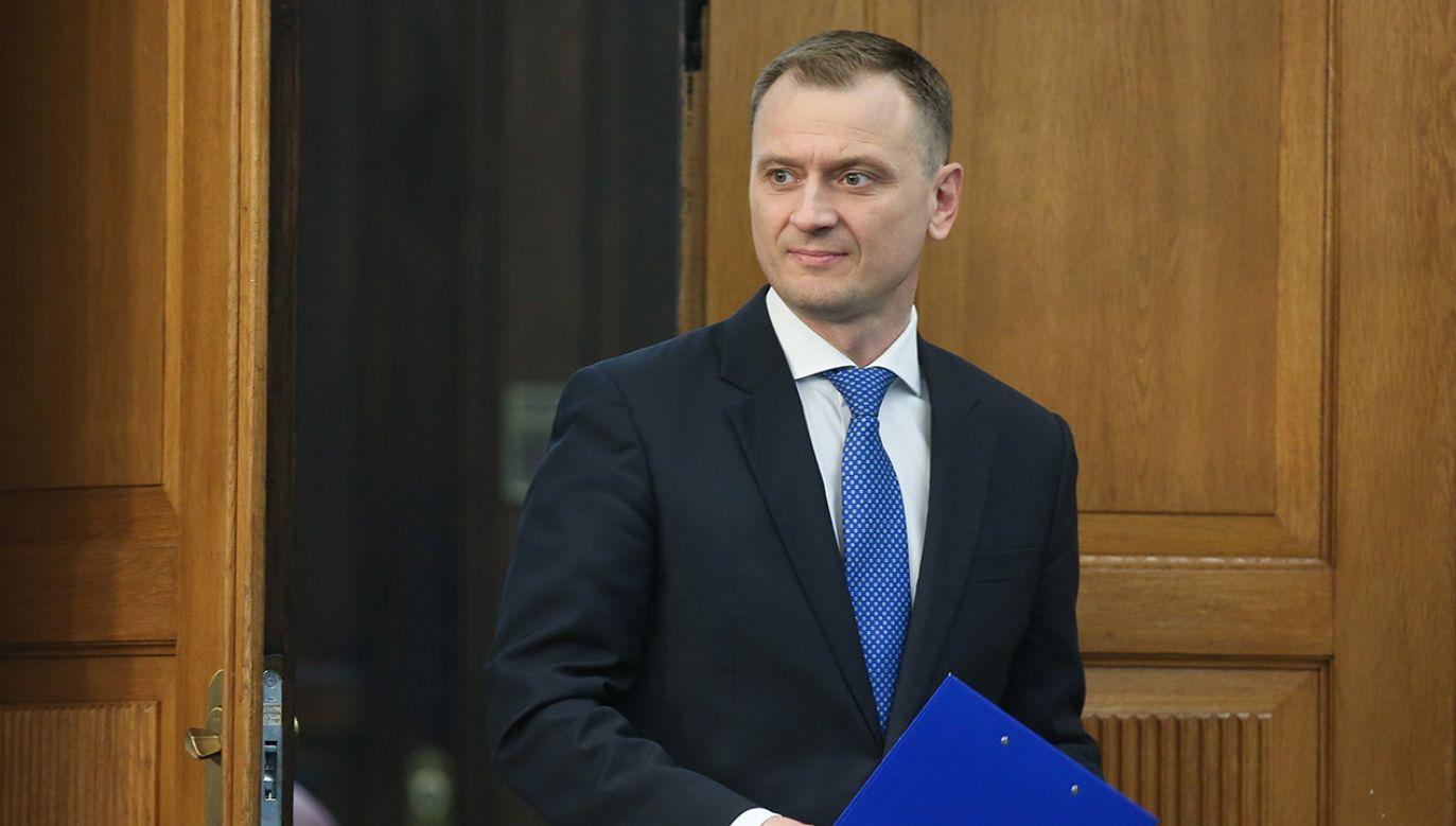 Sławomir Nitras (fot. arch. PAP/Rafał Guz)