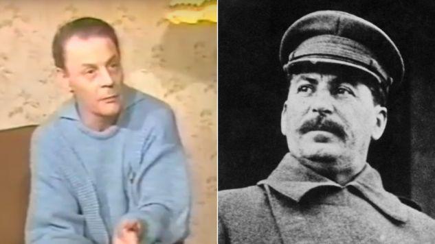 Aleksander Burdonski był synem generała Wasilija Stalina, młodszego syna dyktatora (fot. yt/studio del bianco/ Keystone/Hulton Archive/Getty Images)