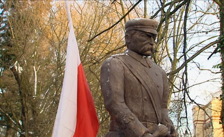 Huczne obchody 150. urodzin marszałka Józefa Piłsudskiego