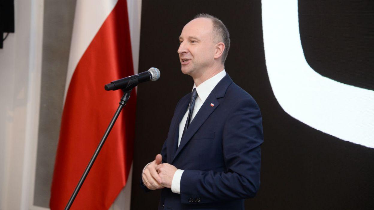 Prezydencki minister Wojciech Kolarski nie ma wątpliwości, że spektakl odniesie sukces (fot. Jan Bogacz/TVP)