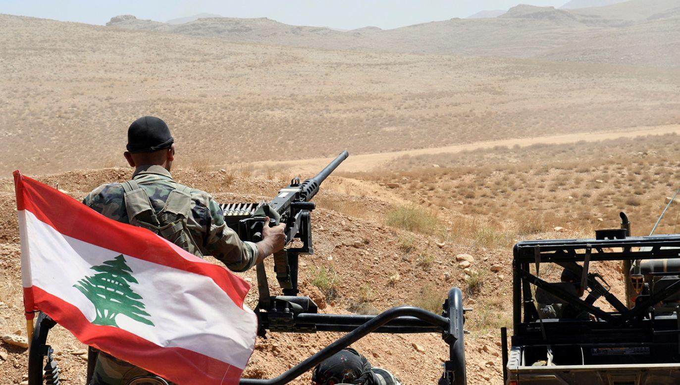 Między Libanem a Izraelem narasta napięcie (fot.REUTERS/Hassan Abdallah)