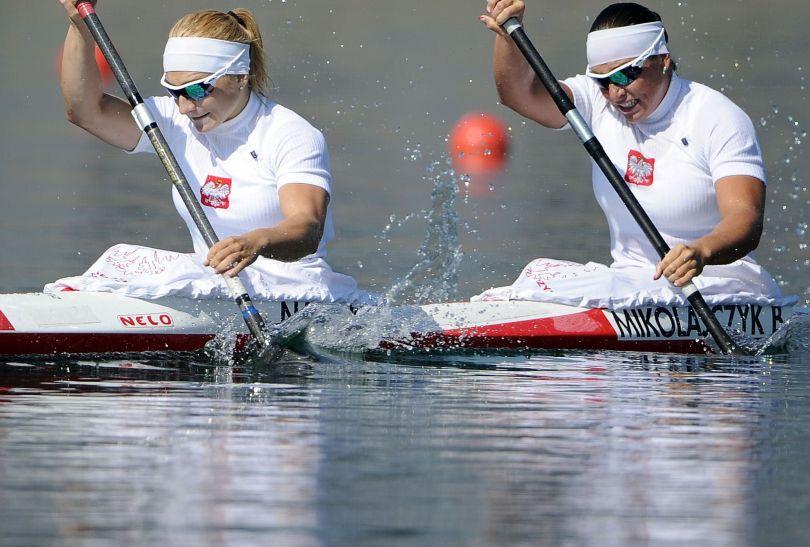 Polki podczas wyścigu (fot. Getty Images)