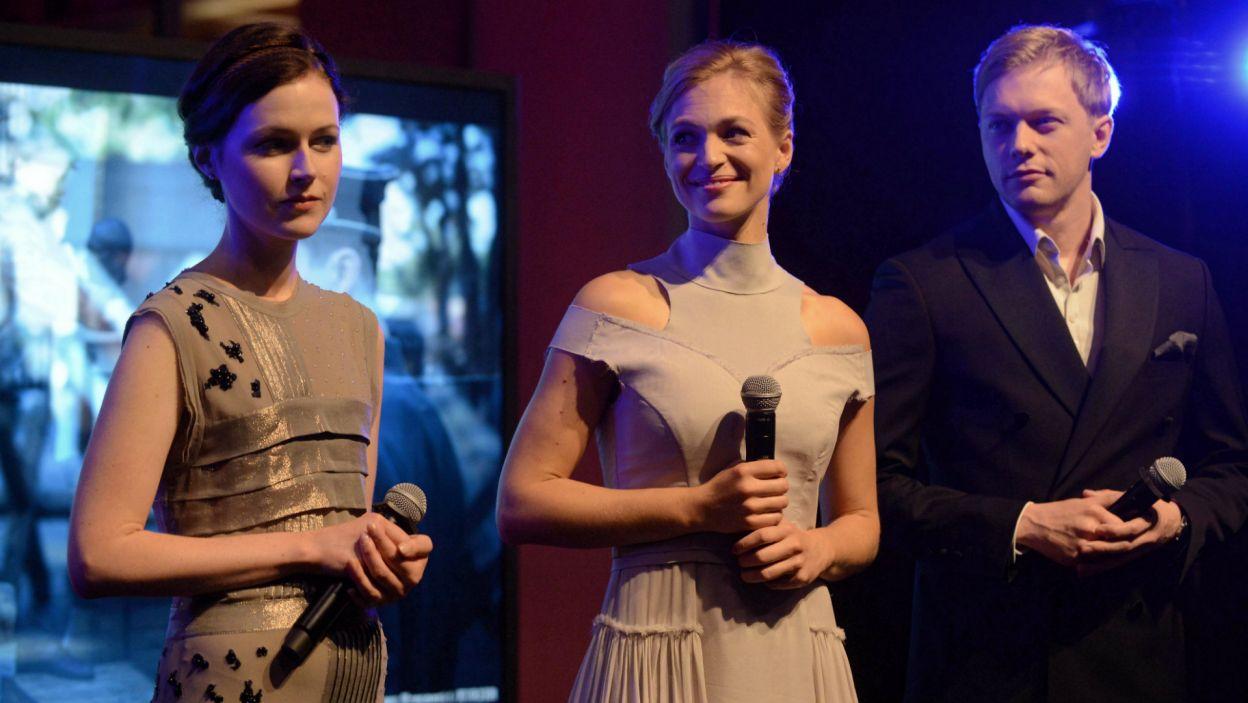 """Patrycja Volny to córka Jacka Kaczmarskiego, na dużym ekranie widzieliśmy ją w """"Pokłosiu"""" (PAP/Jakub Kamiński)"""