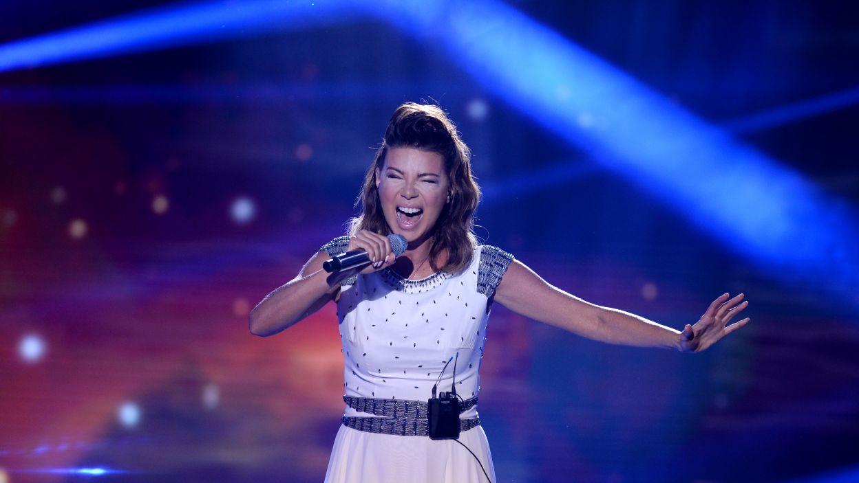 Edyta Górniak reprezentowała już Polskę w 1994 roku, gdzie zajęła drugie miejsce. Tym razem nie zebrała jednak wystarczającej ilości głosów by przejść dalej (fot. J. Bogacz/ TVP)