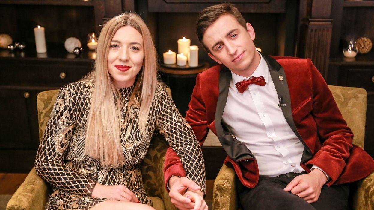Czy nie wyglądają pięknie? Widać, że są w sobie zakochani! (Fot. TVP)