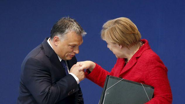 Według Viktora Orbana Niemcy zagłosowali za opartą na konserwatywnych fundamentach (fot. REUTERS/Susana Vera)