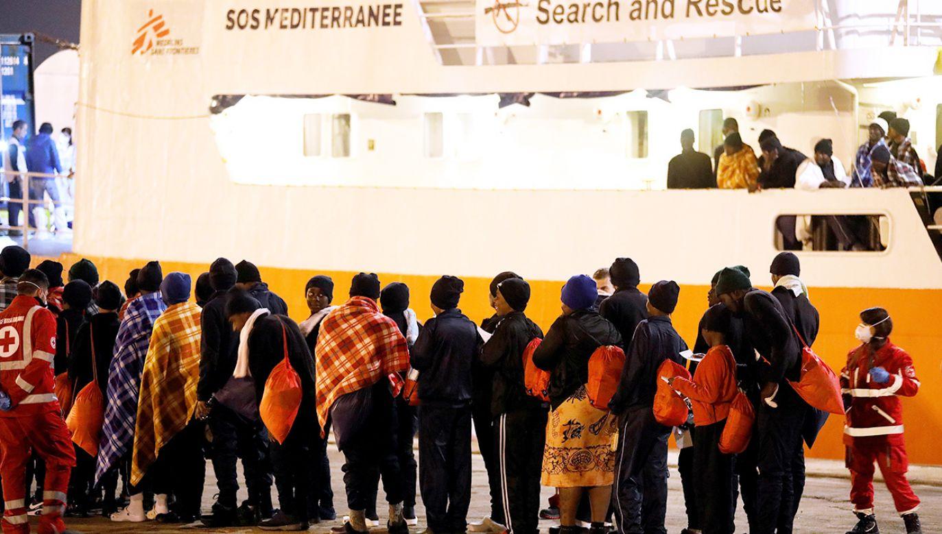 Wśród przybyłych migrantów najwięcej jest obywateli Erytrei, Tunezji, Nigerii i Wybrzeża Kości Słoniowej (fot. REUTERS/Antonio Parrinello)