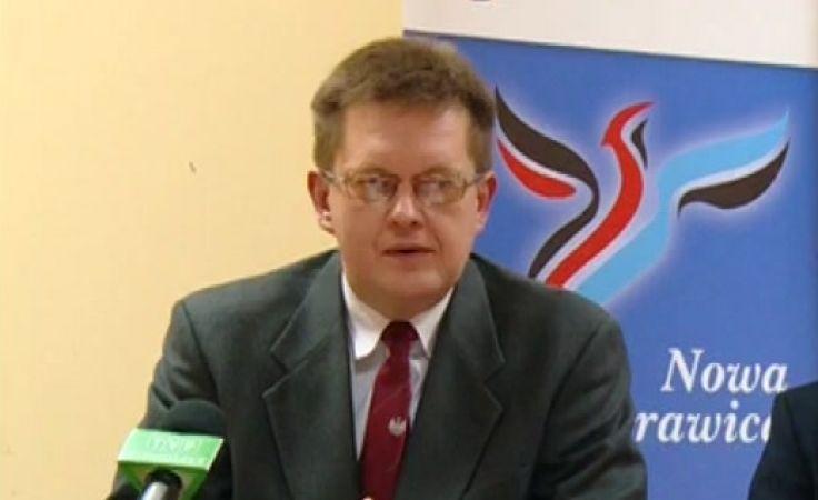 Kandydat Czerepiuk ma zarzuty do wieszanych plakatów