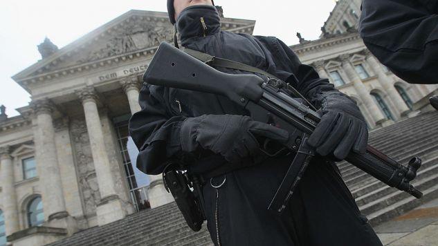 Antyterroryści w Niemczech szukają 28-letniego Czeczena. (fot.Sean Gallup/Getty Images)