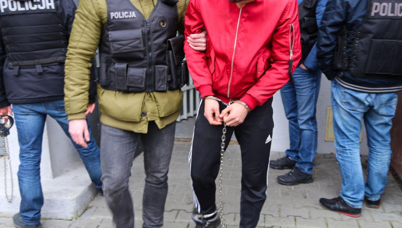 Zatrzymani mężczyźni usłyszeli już zarzuty (fot. Policja)