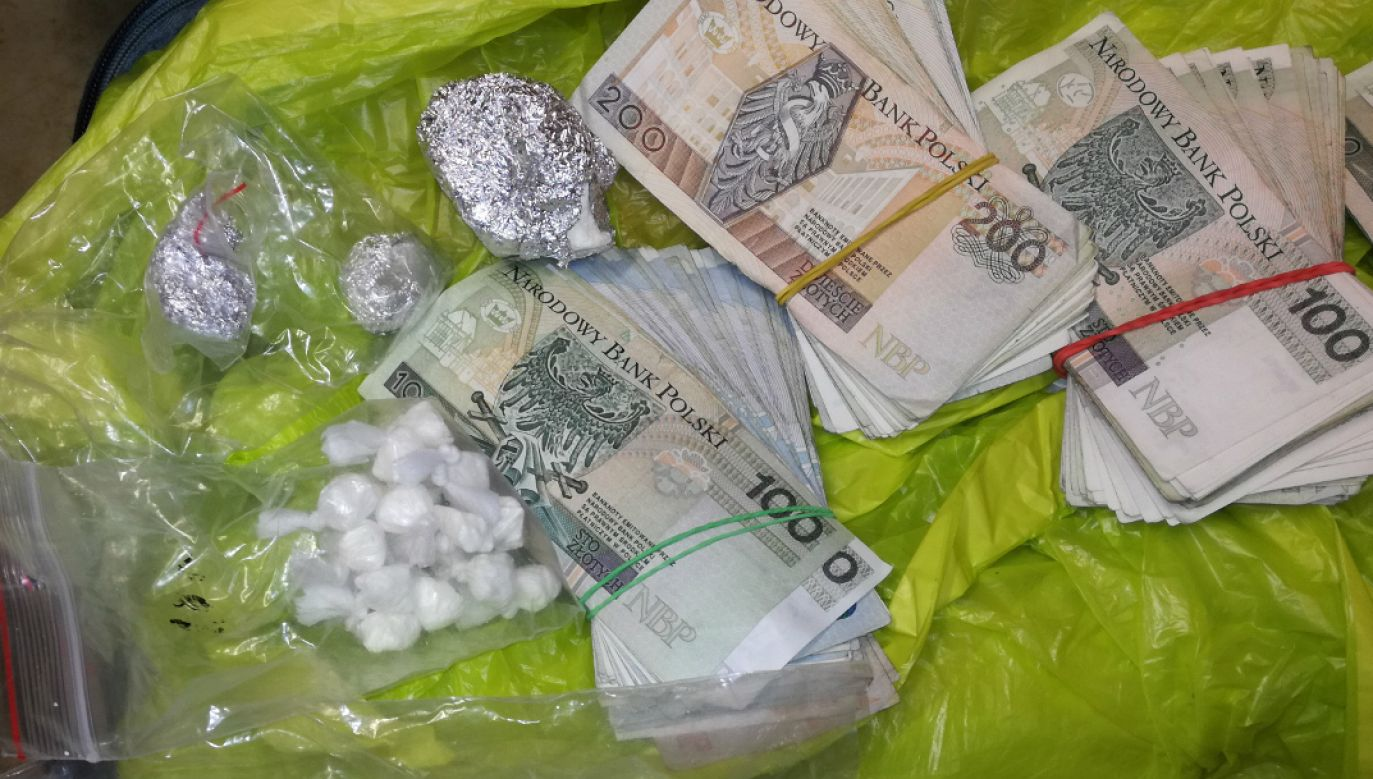 Grupa zajmowała się przemytem narkotyków z Holandii (fot. CBŚP)