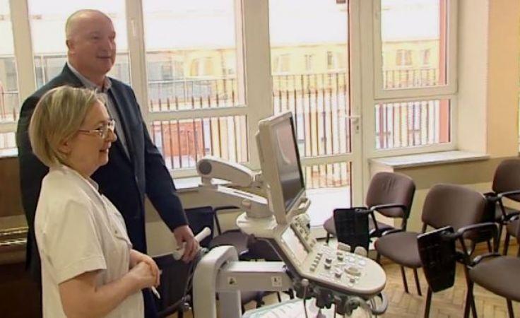Ultrasonograf kosztował 240 tys. zł