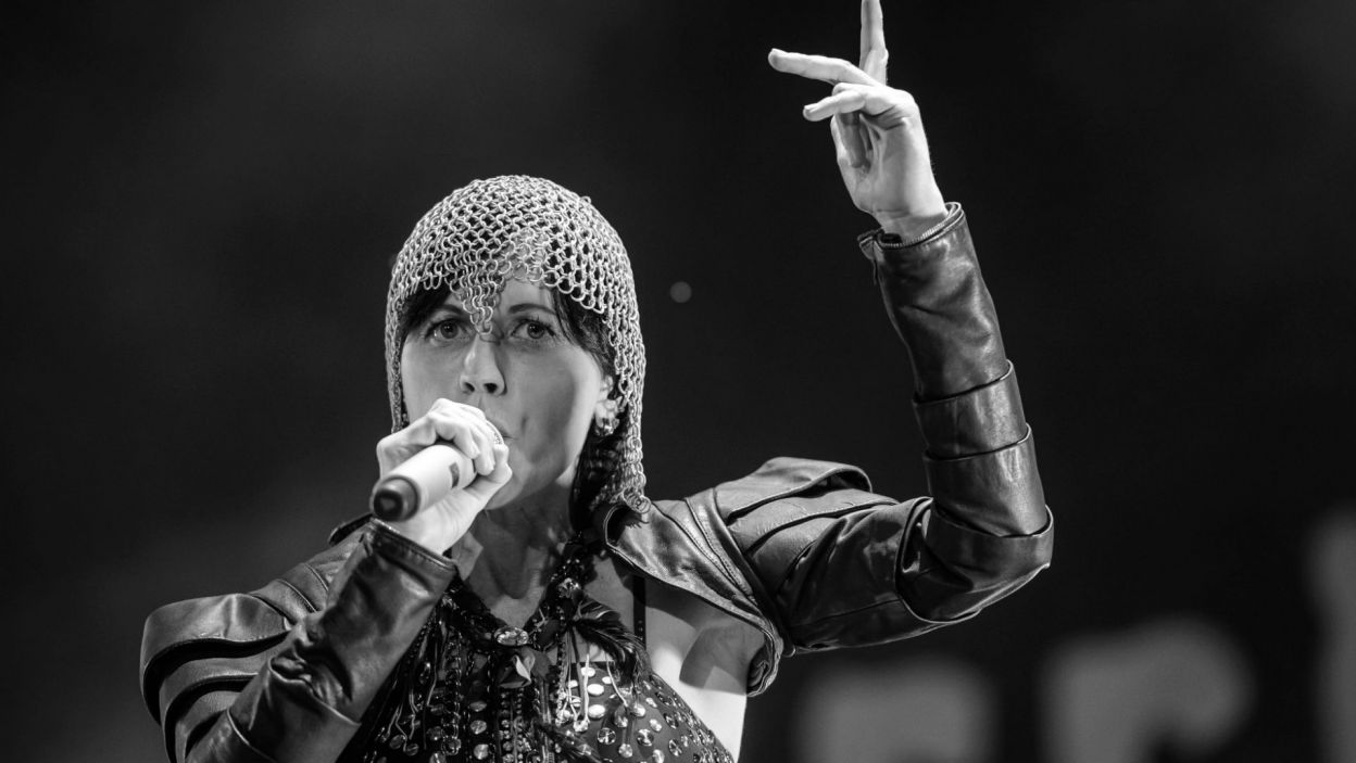 Dolores O'Riordan, wokalistka grupy The Crenberries, zmarła w styczniu br. (fot. PAP/Wojciech Pacewicz)