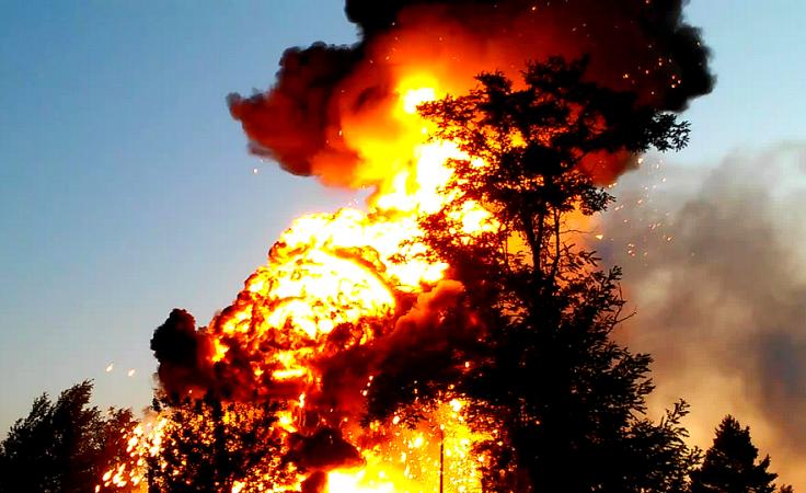 (fot. Powiatowa Straż Pożarna w Trzebnicy)