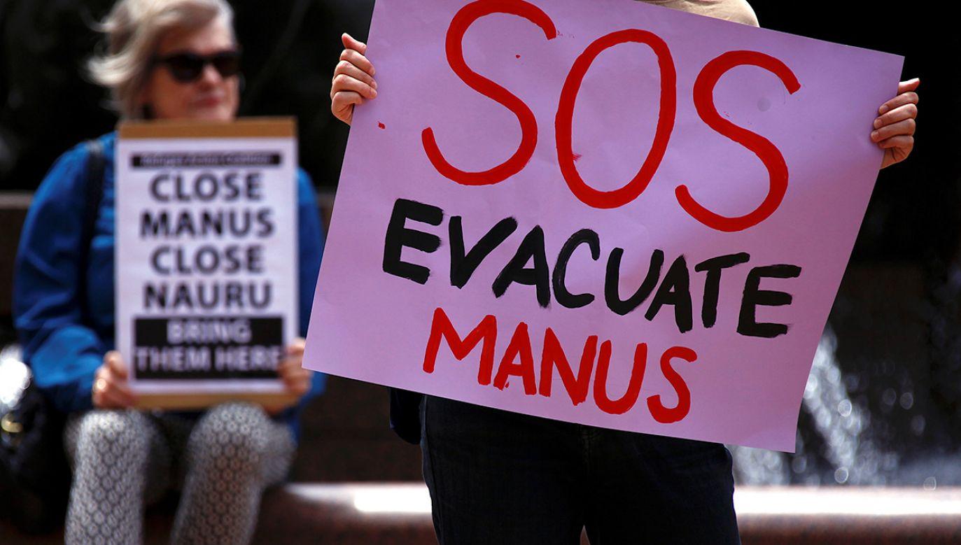 Australia pozostaje nieugięta wobec imigrantów (fot. REUTERS/David Gray)
