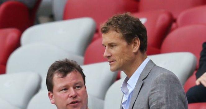 Na trybunach były bramkarz reprezentacji Niemiec Jens Lehmann (fot. Getty Images)
