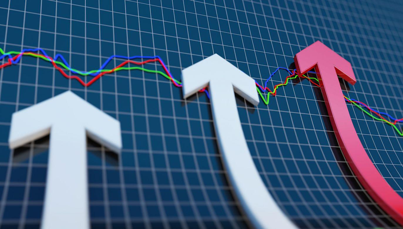 Pierwsze dane na temat wzrostu gospodarczego w trzecim kwartale GUS podał w połowie miesiąca (fot. Shutterstock/HelloRF Zcool)