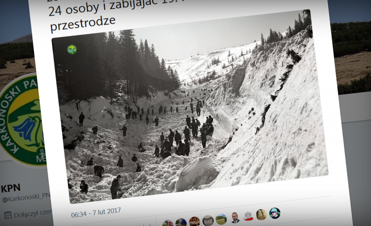 (zrzut ekranu z twitter.com/Karkonoski_PN)