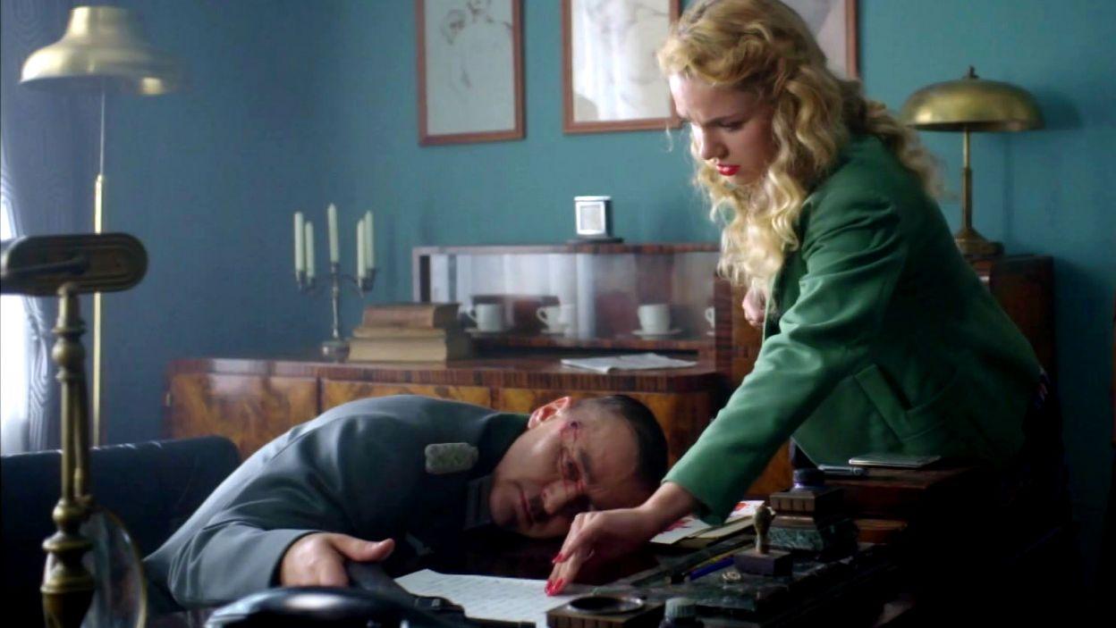 Niestety, współpraca z Dietrichem nie dojdzie do skutku. Mężczyzna popełnił samobójstwo (fot. TVP)