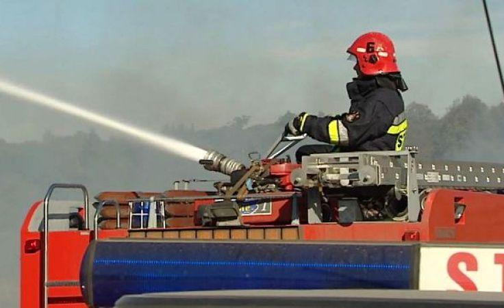 Strażacy zostali wezwani do pożaru w miejscowości Lipowo pod Mrągowem