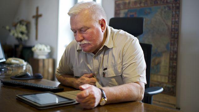 Śledztwo wszczęto po pierwszych wypowiedziach Lecha Wałęsy o sfałszowaniu akt z teczki (fot. Jasper Juinen/Getty Images)