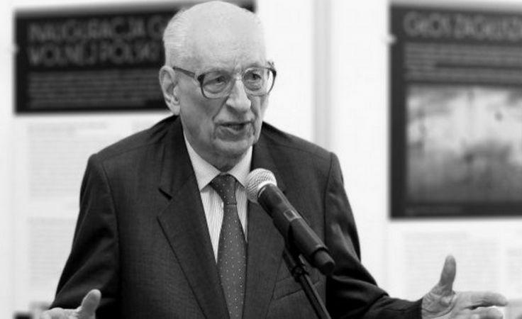 Prof. Władysław Bartoszewski zmarł w wieku 93 lat/fot.wikipedia.org