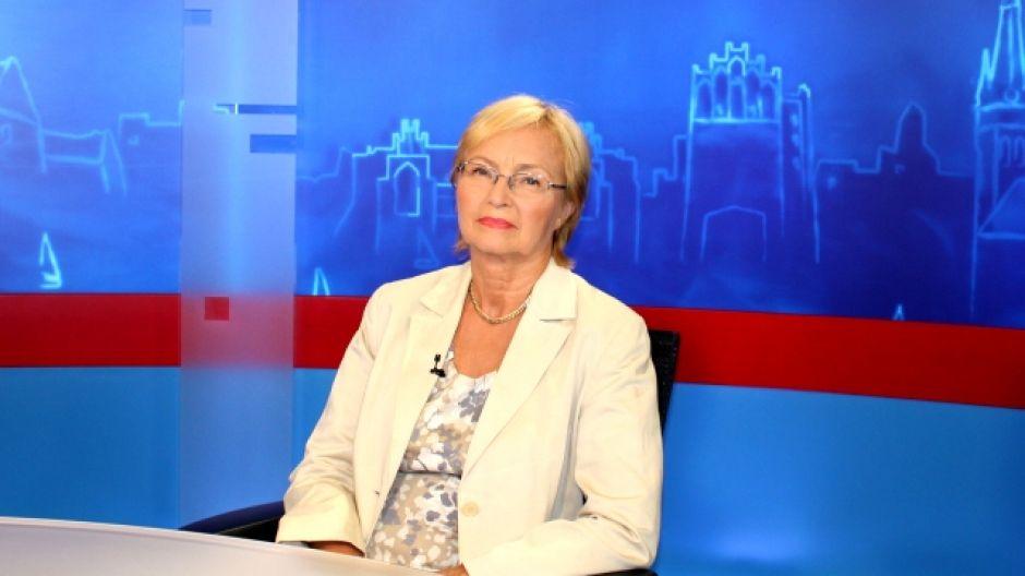 Prof. Lena Kolarska-Bobińska, minister nauki i szkolnictwa wyższego