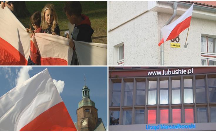 Czy Lubuszanie pamiętali o wywieszeniu flag?