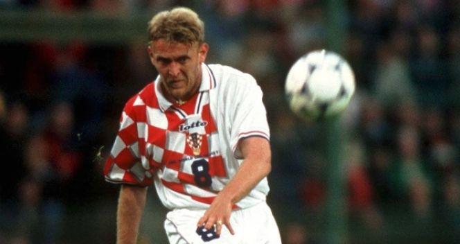 Robert Prosinecki strzelił gola w meczu o 3. miejsce (fot. Getty Images)