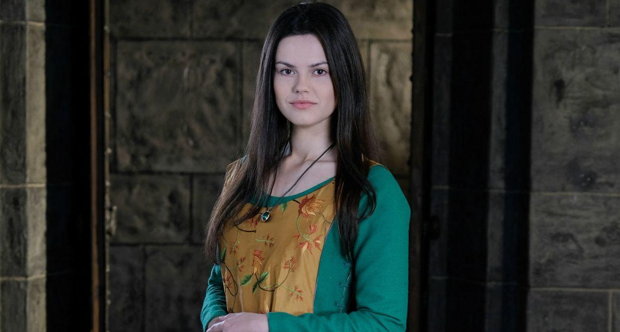 Paulina Lasota zagrała rolę Cudki (fot. TVP)
