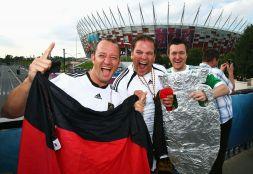 Niemieccy kibice (fot. Getty Images)